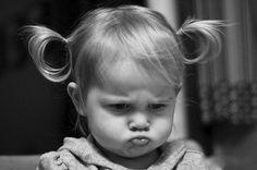 pouting toddler girl