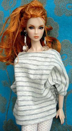 Frumpy in style but still beautiful red head Barbie