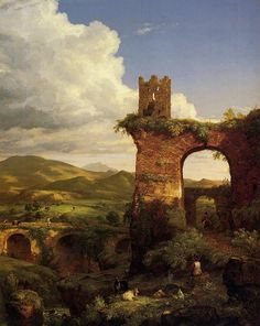Arch of Nero - Cole Thomas - WikiArt.org