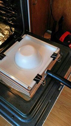 DIY plastic former-vacuum