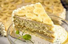 Ciasto bananowe na zimno - wypróbuj sprawdzony przepis. Odwiedź Smaczną Stronę Tesco.