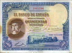 España 1935 500 pesetas