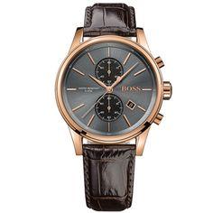 Relógio Hugo Boss Masculino Couro Marrom - 1513281
