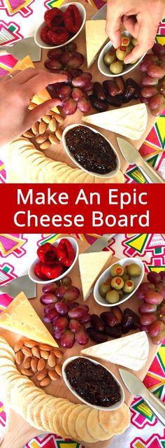Best cheese board tutorial ever, awesome ideas! They have a formula for a perfect cheese and cracker and fruit platter, truly epic!