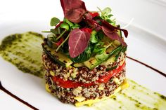 Grilled Zucchini and Red Quinoa Salad - Taste by Four Seasons | Taste by Four Seasons