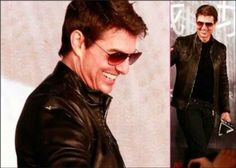 Tom Cruise Brown Leather Collage by ixmeraz.deviantart.com on @deviantART