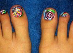 Beautiful and Fun Toe Nail Art Ideas. Great a Pretty Pedicure!