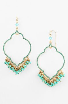 Free shipping and returns on Sequin Beaded Drop Earrings at Nordstrom.com. Sparkling crystals trace the exotic shape of playful drop earrings fringed with dancing beads.