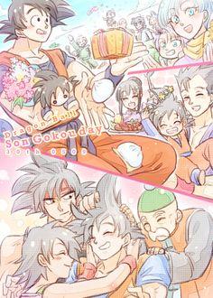 Goku | 孫家週間&○○の日ログまとめ | 爆走K [pixiv] http://www.pixiv.net/member_illust.php?mode=medium&illust_id=43428693