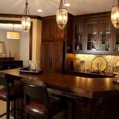 bar top--L Shaped Wet Bars Design, Pictures, Remodel, Decor and Ideas - page 2