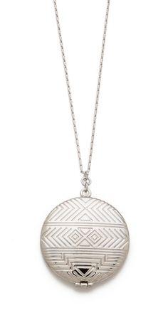 House of Harlow 1960 Medallion Locket Necklace | SHOPBOP