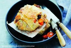 Pastilla de carottes au poulet et curcuma