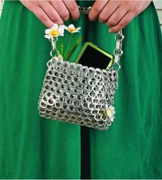 Make Your Own Upcycled Pop Tab Purse