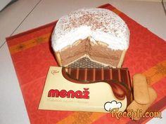 Recept za Čokoladnu markiza tortu. Za spremanje poslastice neophodno je pripremiti margarin, šećer, jaja, čokoladu, keks, mleko.