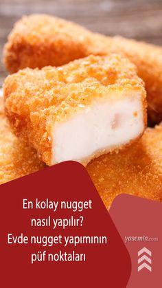 Dışı çıtır çıtır, içi ise yumuşacık olan nugget, hem çok pratik hem de çok lezzetli olan bir tavuk yemeği. Peki tavuğu herkese sevdiren nugget nasıl yapılır? Nugget yapmanın püf noktaları nelerdir? Lezzetli nugget yapmak için nelere dikkat edilmelidir? İşte tüm soruların yanıtı: