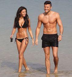 Michelle Keegan & Mark Wright bikini body Thinspiration