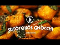 Sütőtökös gnocchi   Electrolux - YouTube