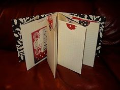 Mini Album with Pockets and Flaps