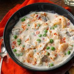 Grandma's Seafood Chowder - Taste of Home.   I am have to make this chowder. It looks yummo!