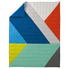 Angular Bedding and Quilt   The Land of Nod