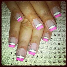 Francesa pink & white