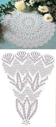 Crochet Scarf Diagram, Free Crochet Doily Patterns, Annie's Crochet, Tatting Patterns, Crochet Chart, Crochet Squares, Crochet Home, Thread Crochet, Filet Crochet