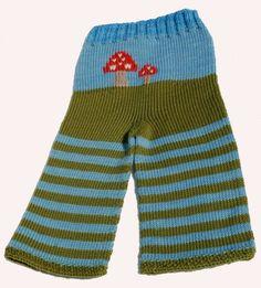 Toadstool knit pants