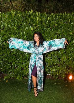 Rosario Dawson at A$AP Mob x Vlone Present Asap Worldwide Cozy Clubhouse, Art Basel, Miami December 2nd 2016