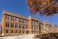 """Make It Right Turns an Abandoned School Into Affordable LEED Platinum Housing - 109 year old Kansas City, MO school transformed into affordable housing.  """"A 75-kilowatt solar array on the building's roof, occupancy sensors to manage energy consumption, Cradle-to-Cradle flooring systems, and energy-efficient windows all contribute to the project's LEED Platinum rating"""""""