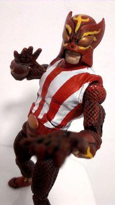 Sunfire (Uncanny Avengers) (Marvel Legends) Custom Action Figure