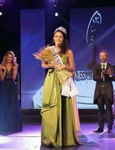 Xhaneta Byberi Crowned Miss Universe Albania 2014 - Beauty Pageant News Miss Universe 2014, Beauty Pageant, Albania, Crown, News, Formal Dresses, Fashion, Dresses For Formal, Moda