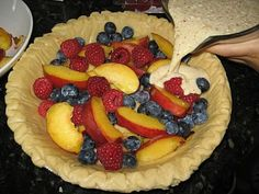 Fruit Pie Blue Cricket Design
