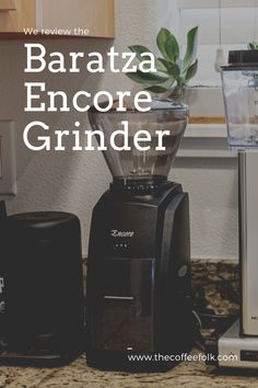 We review the Baratza Encore Conical Burr Grinder- an exceptional grinder ideal for manual brewing. It comes with 40 grind settings covering fine to coarse, has superb grind consistency, and is known to be a packhorse that deals well with heavy use. Coffee Grinders, Consistency, Brewing, Manual, Things To Come, Textbook