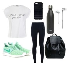 """Untitled #15"" by shannonwarn on Polyvore featuring Ally Fashion, NIKE, S'well, Master & Dynamic, women's clothing, women, female, woman, misses and juniors"