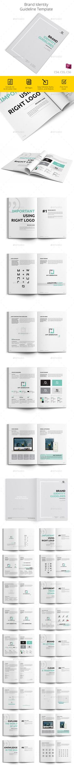 Brand Manual Brand manual, Corporate brochure and Brochures - it manual template