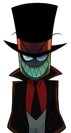 Floppy Hat Sayings - Fedora Hat Hipster - Straw Hat Painting - - Cartoon Shows, Cartoon Art, Cartoon Character Tattoos, Desenhos Cartoon Network, Hat Organization, Villainous Cartoon, The Villain, Cool Artwork, Caps Hats