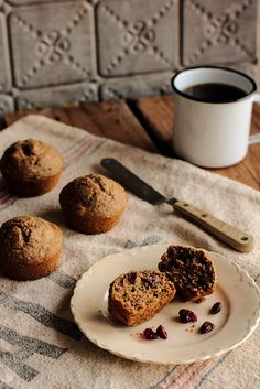 Cranberry Flaxseed Muffins by Pastry Affair