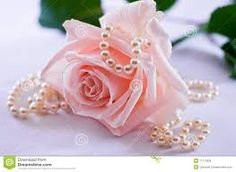 Image result for pink roses and pearls