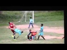 Soccer Player Delivers Brutal Flying Dropkick On Opponent - YouTube