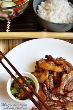 Recepty Archives - Strana 24 z 38 - Meg v kuchyni China Food, Good Food, Yummy Food, No Salt Recipes, Food 52, Food Hacks, Chicken Wings, Asian Recipes, Crockpot