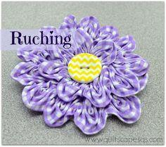 Ruching