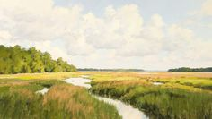 """""""Marsh Vista"""" by Michael B. Karas. See more of his work by clicking on image"""