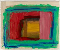 Sir Howard Hodgkin, For Matisse, Gagosian Gallery. Peter Doig, Matisse, Howard Hodgkin, Gagosian Gallery, Colorful Abstract Art, Picasso Paintings, Abstract Painters, Watercolor Artists, Online Art