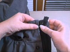 Jacket Zipper Replacement
