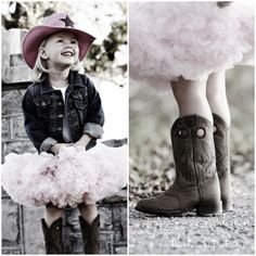 Cowgirl birthday with cute cowboy boots and hat