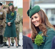 Catherine Duchess Of Cambridge In Jonathan Saunders