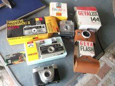 Oude foto toestellen - Prijs: Gratis