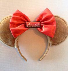 Disney minnie ears  on Etsy, $17.00