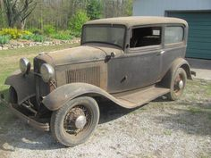 Aged To Perfection 1932 Ford