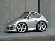 Smart Car Designs of Sports Cars - Porsche #tiny #cars
